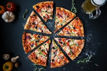 דוכני מזון מלוח: דוכן פיצה לאירועים